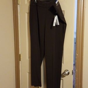 Brown/coffee investment pants. The park ave fit